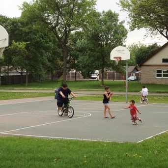 Photo of Basketball Court in Jackson Square Park in Seward, Minneapolis