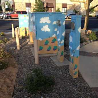 Photo of Art Near a Major Road in Albuquerque