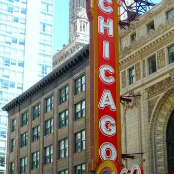 Photo of Chicago Theatre in The Loop, Chicago