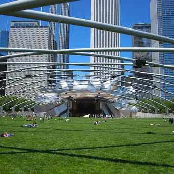Photo of Cloud Gate at Millenium Park in Grant Park, Chicago