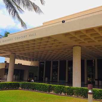 Photo of Neal S. Blaisdell Concert Hall in Honolulu