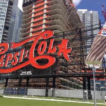 Photo of Pepsi Sign in Long Island City, New York