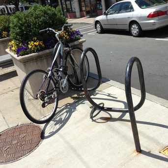 Photo of Bike Lock in Oak Square, Boston