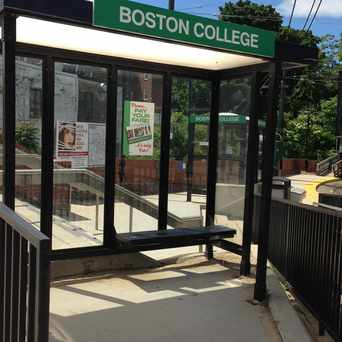 Photo of Boston College Train Stop in Newton