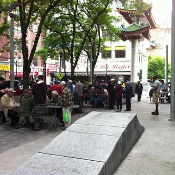 Photo of Chinatown Checker Tables in Chinatown - Leather District, Boston