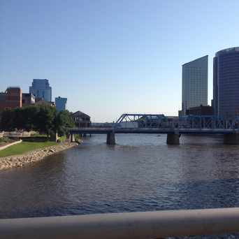 Photo of Grand River in Grand Rapids