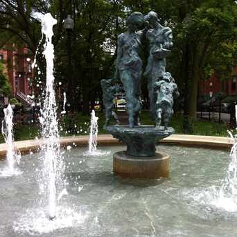 Photo of Worcester Square in South End, Boston