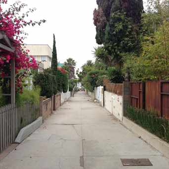 Photo of Dudley street in Los Angeles