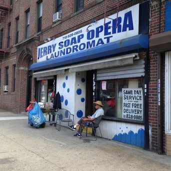 Photo of Jerry Soap Opera Laundromat in Pelham Bay, New York