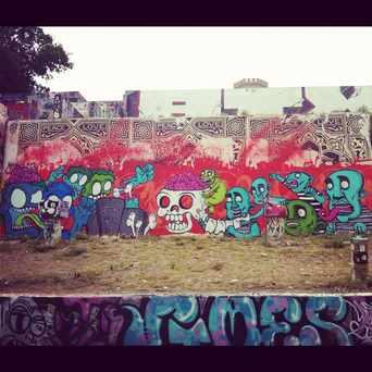 Photo of Castle Hill Grafitti in Old West Austin, Austin