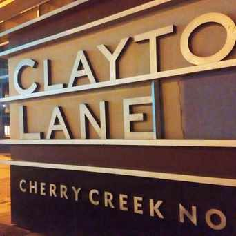 Photo of Clayton Lane in Cherry Creek, Denver