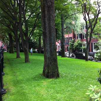 Photo of Louisburg Square in Beacon Hill, Boston