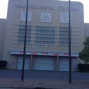 Photo of War Memorial Stadium in Little Rock