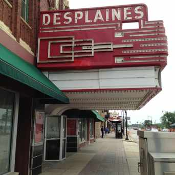 Photo of The Des Plaines Theatre in Des Plaines