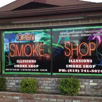 Photo of illusions smoke shop in Rolando, San Diego