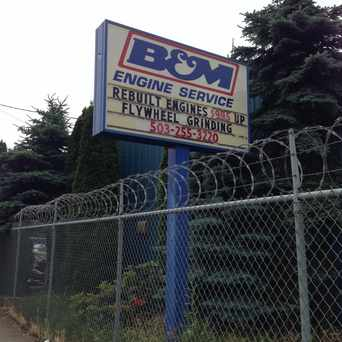 Photo of B&M Engine Service in Mt. Scott-Arleta, Portland
