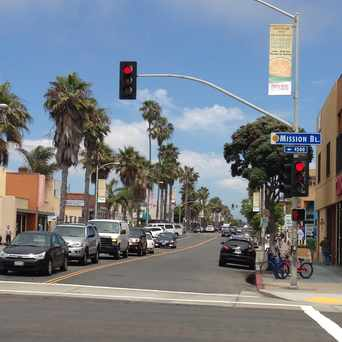 Photo of Garnet Ave. & Mission Blvd. in Pacific Beach, San Diego