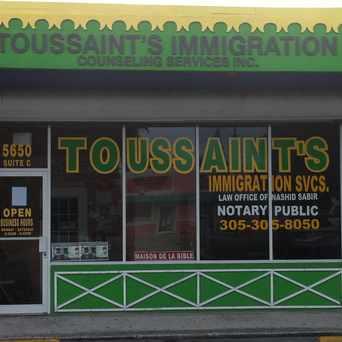 Photo of Toussaint's in Little Haiti, Miami