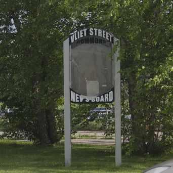 Photo of Newsboard Washington Heights in Wick Field, Milwaukee