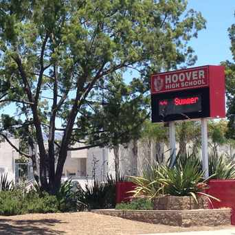 Photo of Hoover High School in Talmadge, San Diego
