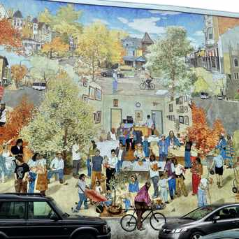 Photo of CPMAP Baltimore Ave Mural in Cedar Park, Philadelphia