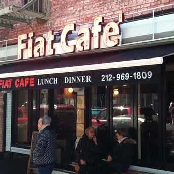 Photo of Fiat Cafe in NoLita, New York