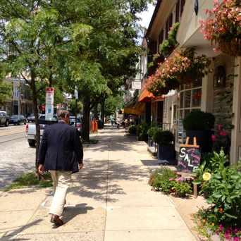 Photo of Germantown Av & Highland Av in Chestnut Hill, Philadelphia