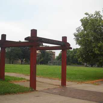 Photo of Pauline Fauntleroy Playfield in Sandtown-Winchester, Baltimore