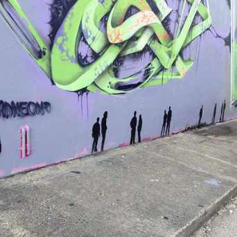 Photo of Art wall in Flagler Heights, Fort Lauderdale