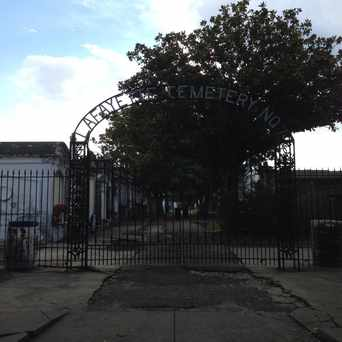 Photo of Lafayette Cemetery No. 1 in Garden District, New Orleans