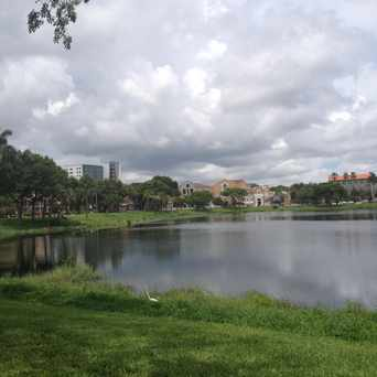Photo of Mirror Lake Park in St. Petersburg
