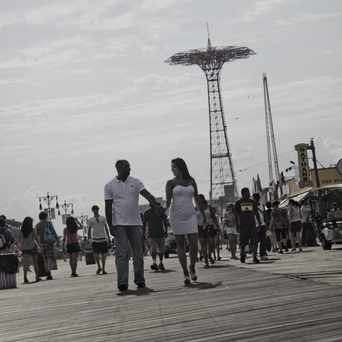 Photo of Boardwalk W in Coney Island, New York