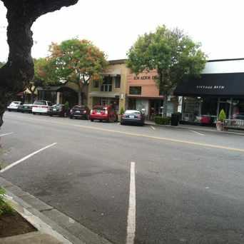 Photo of Walking Along Main Street in Los Altos