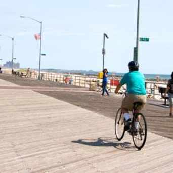 Photo of Ocean Promenade Walkway in Rockaway Beach, New York