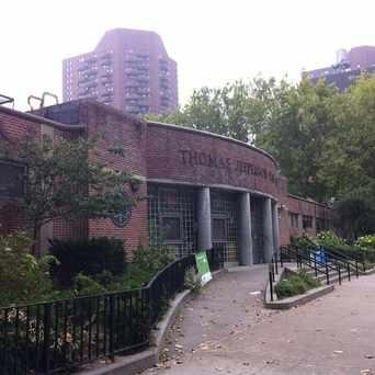 Photo of Jefferson Park in East Harlem, New York