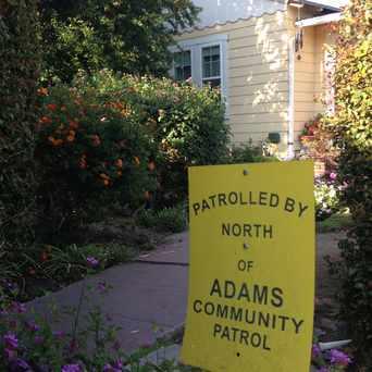 Photo of North Adams Community Patrol Sign in Adams North, San Diego