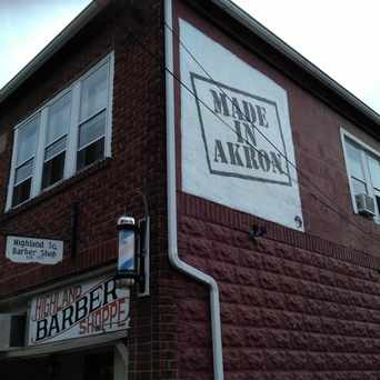 Photo of Highland Barber Shop in Highland Square, Akron