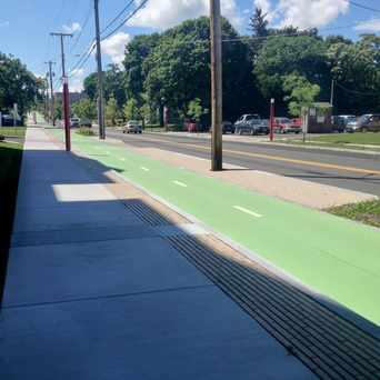 Photo of Near Eastside Bicycle Lane in Eastside, Syracuse