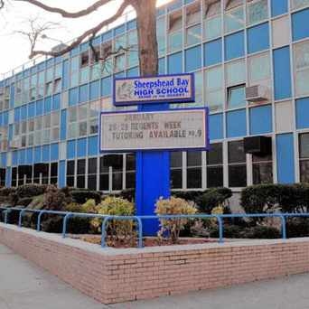 Photo of Sheepshead Bay High School in Sheepshead Bay, New York