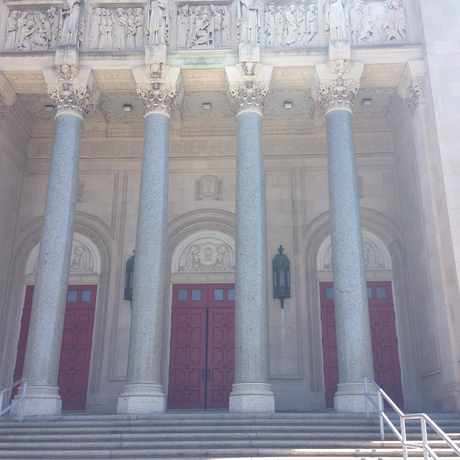 Photo of St. Ignatius of Antioch Church in West Boulevard, Cleveland