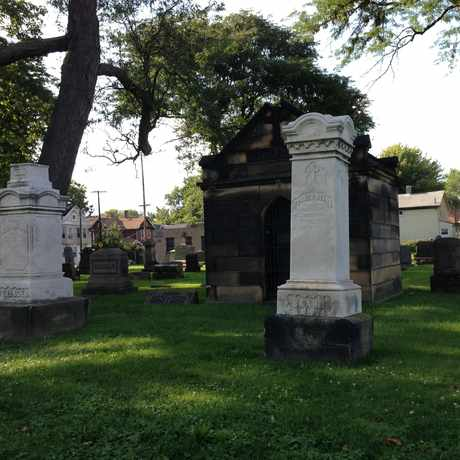 Photo of St. Mary Cemetery in Ohio City, Cleveland