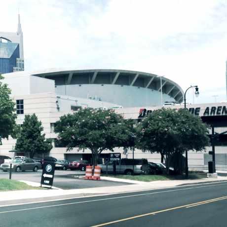 Photo of Bridgestone Arena in Downtown, Nashville-Davidson