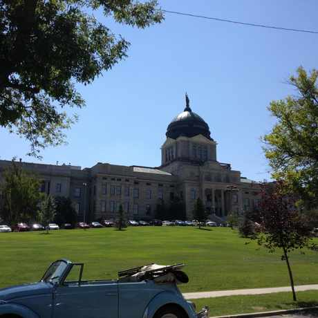 Photo of Montana State Capitol in Helena