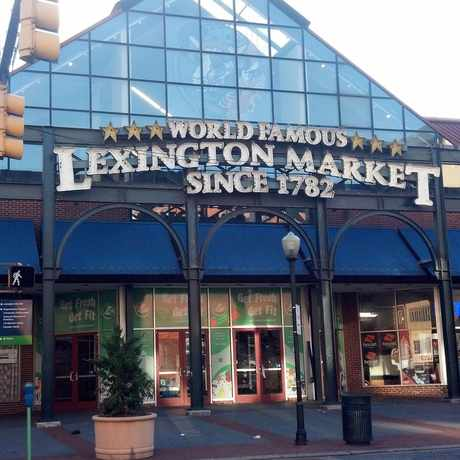 Photo of Lexington Market in Baltimore