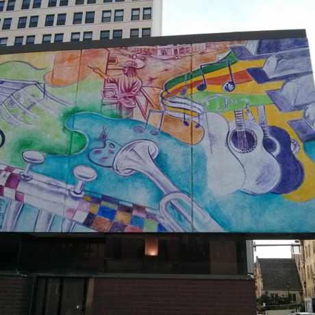 Photo of Mural in East Liberty, Pittsburgh