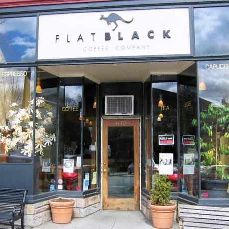 Photo of Flat Black Coffee Co in South End, Boston