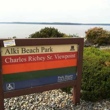 Photo of Alki Beach Park in Alki, Seattle