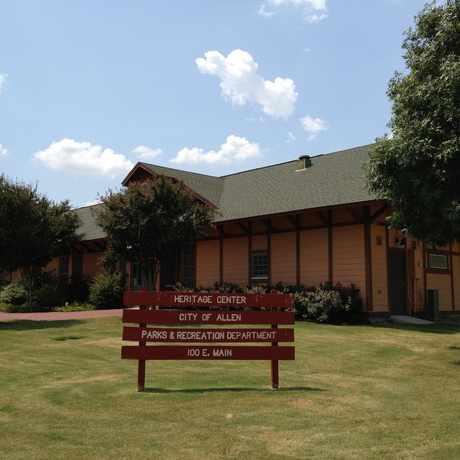 Photo of Allen Heritage Depot Museum in Allen