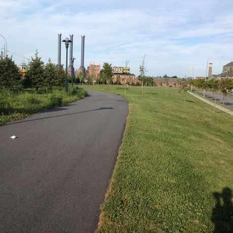 Photo of E Bay Bicycle Path in Providence