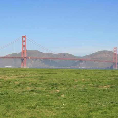 Photo of Crissy Field in Presidio National Park, San Francisco